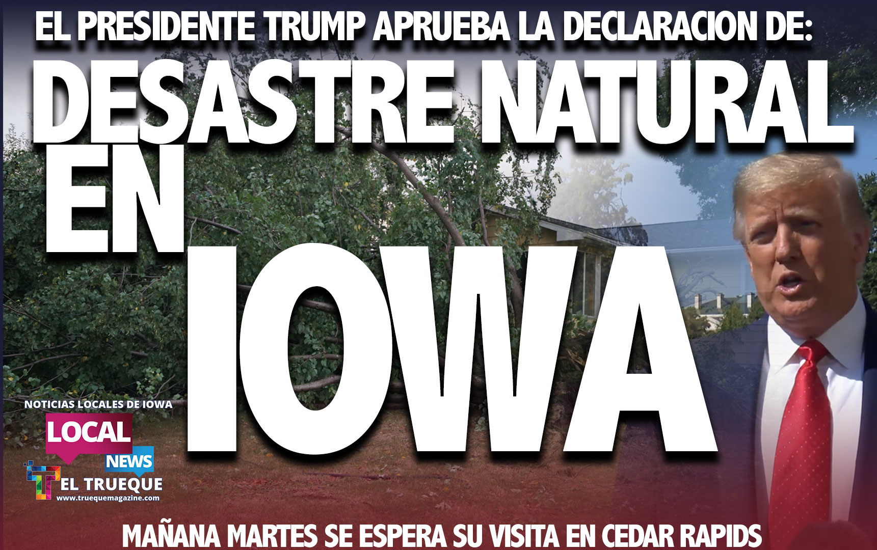 IOWA DESASTRE NATURAL